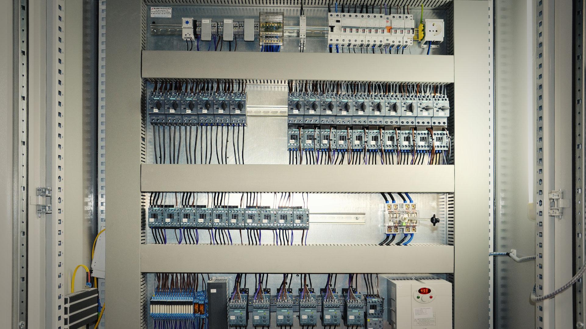 Rozdzielnica sterownicza - Automatyka - DB Project